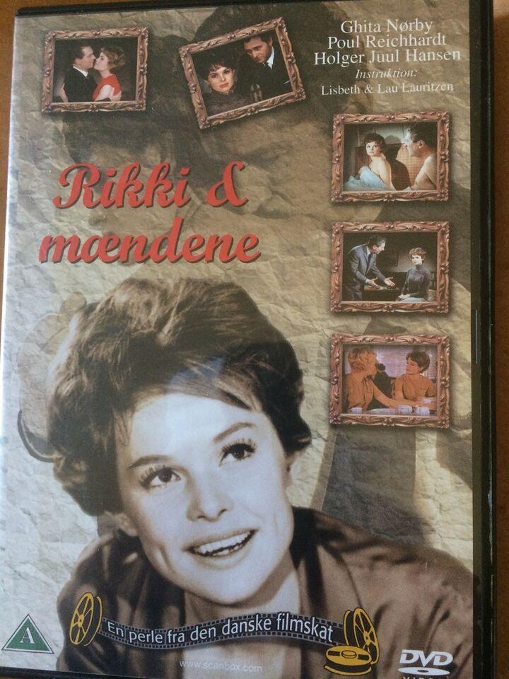 Rikke og mændene, instruktør Lisbeth og Lau Lauritsen, DVD