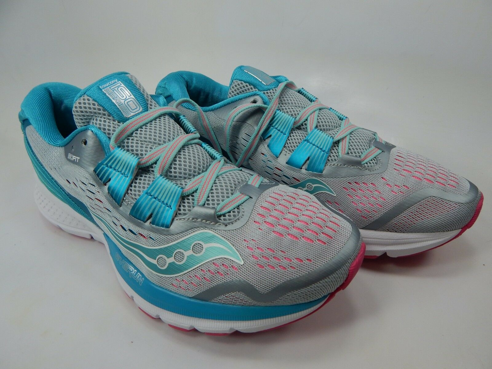 Saucony Zealot ISO 3 Size 8 M (B) Women's Running Shoes Grey/Blue S10369-1