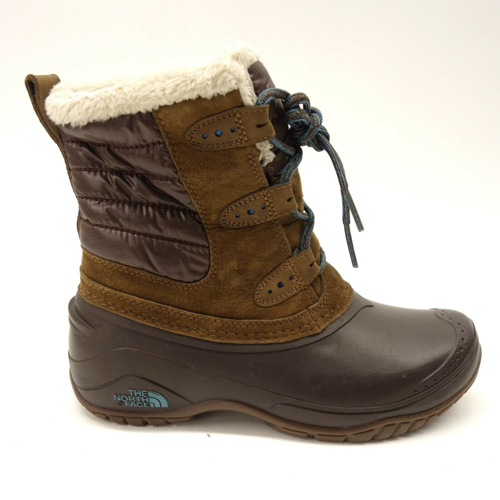 The North Face Womens Shellista II Shorty Insulated Cushioned Winter Boots 6.5