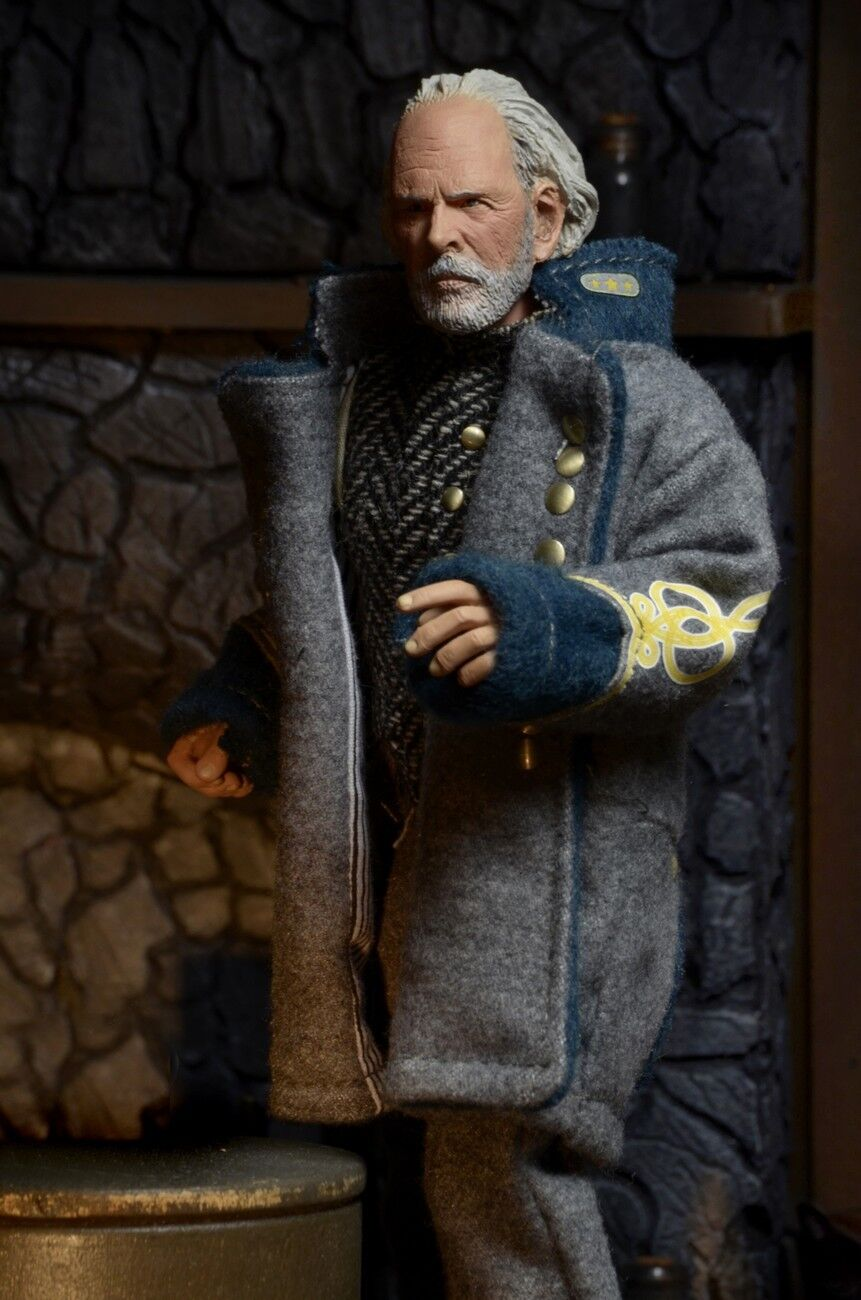 HATEFUL  EIGHT GENERAL SANDY SMITHERS(the CONFEDERATE)BRUCEDERN 8″ ACT.FIG. NECA  profitez d'une réduction de 30 à 50%