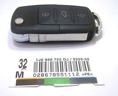 Boitier clé telecommande 3 BTN VW Seat Skoda Golf 4 5 Passat Polo Leon ibiza
