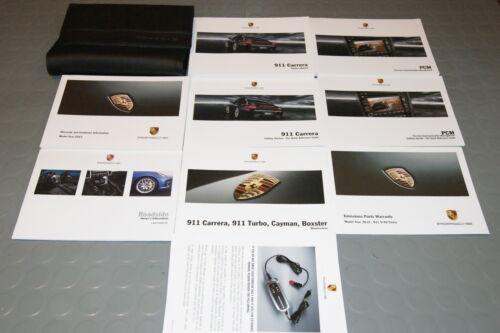 SET 2012 Porsche Carrera 911 997 Owners Manual