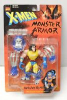 Wolverine Monster Armor Action Figure Toy Biz Nip 1997