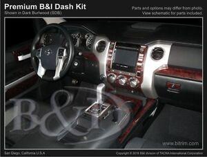 Wood Grain Dash Kit For Toyota Tundra 2014 2017 Ebay
