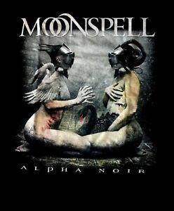 MOONSPELL-cd-cvr-ALPHA-NOIR-Official-Black-SHIRT-MED-New-omega-white