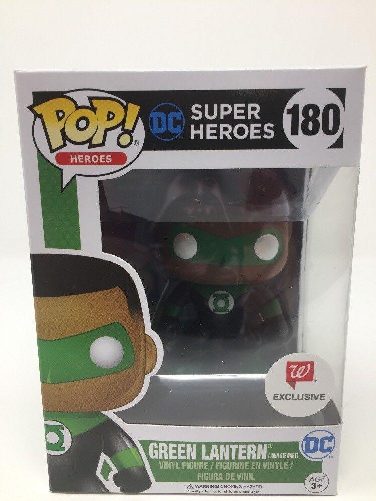 New Funko Pop  Dc Heroes Grün Lantern  180 (John (John 180 Stewart) Walgreens Exclusive- 4167b2