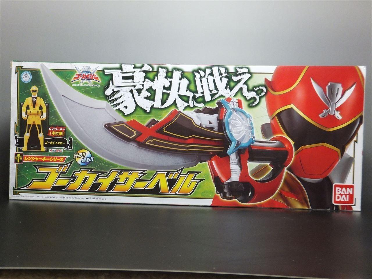 Power Rangers Super Mega Force GOKAIGER GOKAI SABER with Rangers Key Bandai
