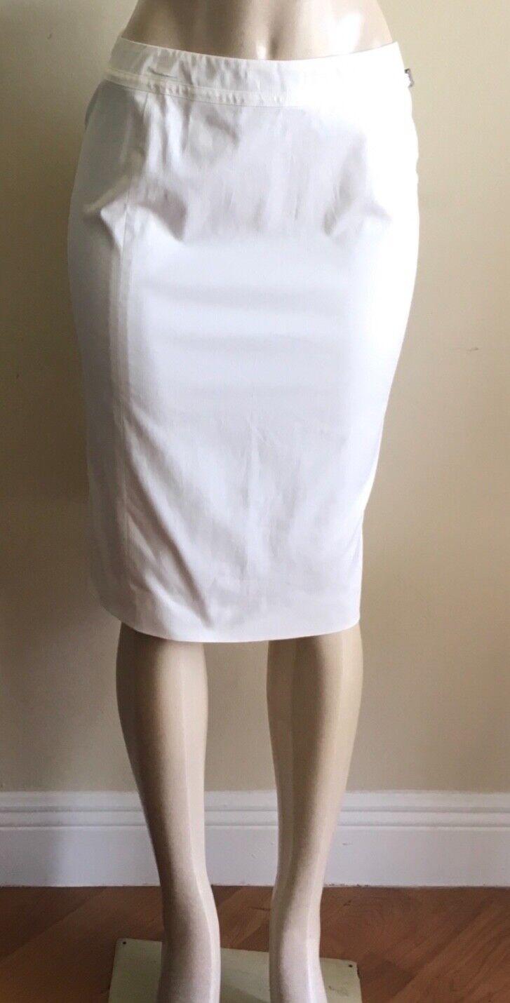 TSE white pencil skirt,size 4 NWT,