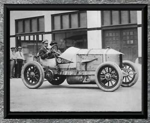 Classic-Car-Mercedes-Racer-Antique-5-034-x7-034-Photo-Print