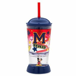 New Disney Store Mickey Mouse All Star Tumbler Cup With