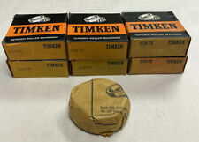 Timken 02875 Tapered Roller Bearing Cone Lot Of 6 Nos