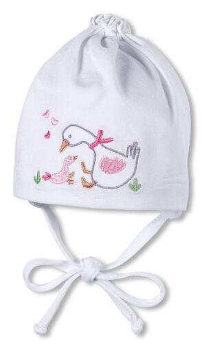 K626 SOMMER Baby Mädchen Knotenmütze Gans Mütze STERNTALER 1401650