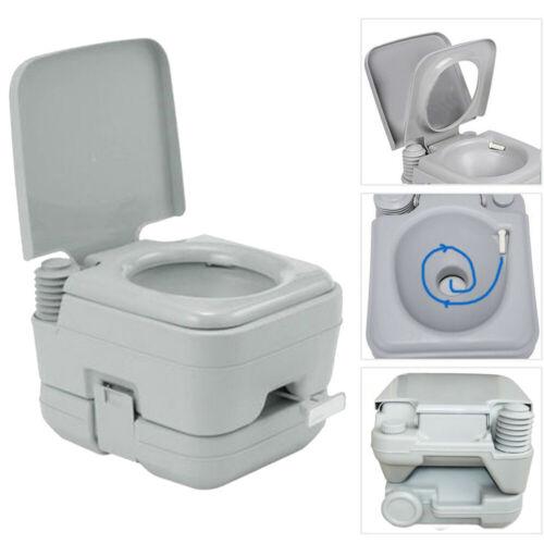 10L Portable Toilet 2.8 Gallon Flush porta-potty Outdoor Indoor Travel Camping