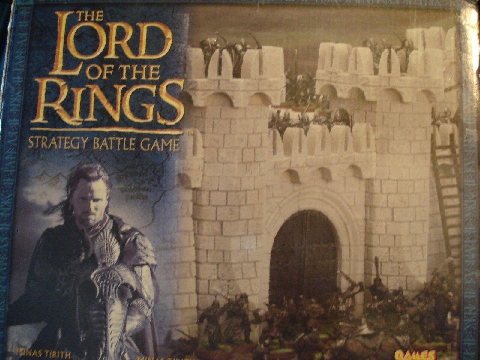 GW Lord of the ringar LotR Scener Terrain Castle Walls of Minas Tirith New NIB