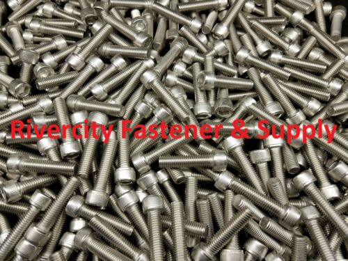 (25) M10-1.5x40mm OR M10X40 mm Socket / Allen Head Cap Screw Stainless Steel