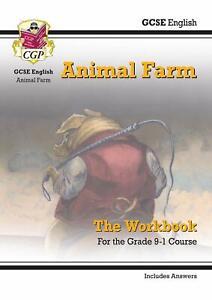 New-Grade-9-1-GCSE-English-Animal-Farm-Workbook-Includes-Answers-CGP-GCSE-Englis