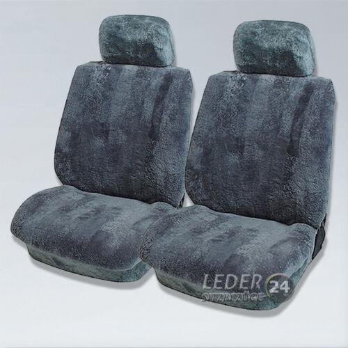 W124,W 140 190E LAMMFELL Sitzbezüge Anthrazit  Mercedes W122 W123