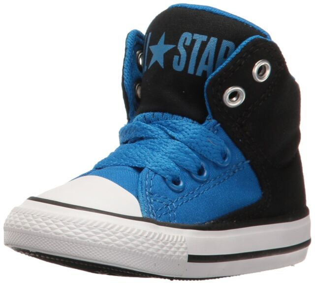 Boys Converse Toddler Size 9 Black High Top Chuck Taylor All Star II