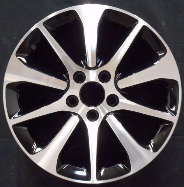 Acura Tlx 2017 2016 Machined Black 17 Factory Oem Wheel Rim 71826 97147