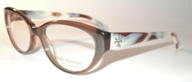 Best Online Glasses 2021 Tory Burch TY 2021 1079 Eyeglasses Frame Brown Horn 52mm for sale