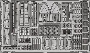 Eduard 1/48 F-105d Exterior # 48610-afficher Le Titre D'origine Riche Et Magnifique