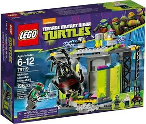 LEGO-NINJA-TURTLES-79119-Mutation-Chamber-Unleashed-Sale