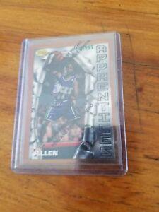 1996-97-Topps-Finest-Ray-Allen-RC-Rookie-Basketball-Card-22-Bucks-HOF-Near-Mint