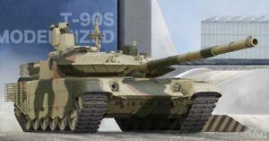Les T-90 russes modernisent leur modèle de trompette au format réservoir en 1:35