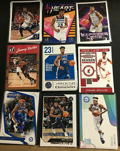 Jimmy Butler - NBA Hoops Donruss Prizm Inserts Parallels (Pick Your Card) 2019
