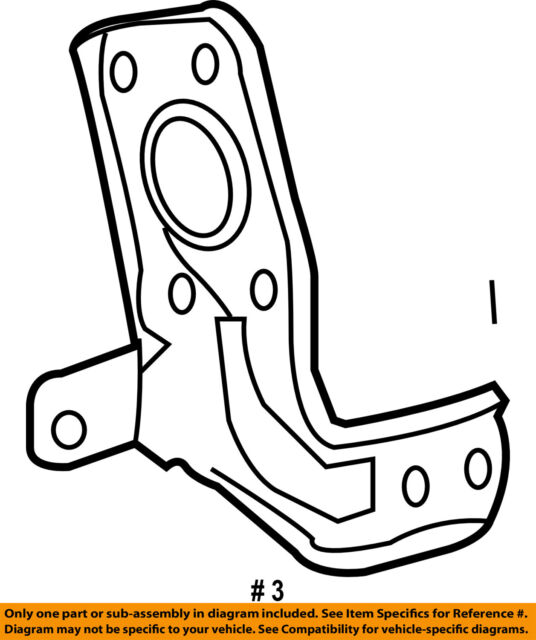 Toyota 862110c050 Genuine Oem Receiver Bracket