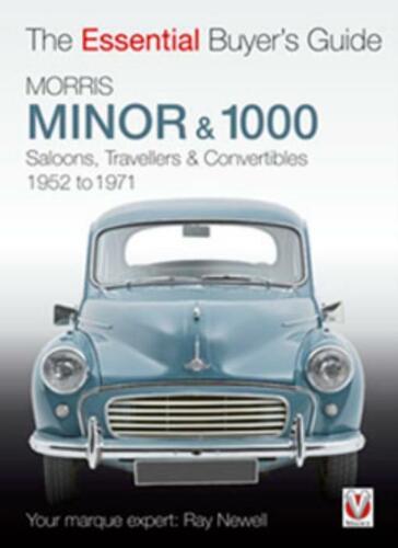 Morris Minor 1000 Saloons Travellers Convertibles Buyer/'s Guide Book 1952-1971