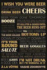 Cerveza: la vida-Maxi Póster de 61cm X 91.5cm (nuevo Y Sellado)