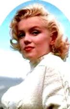 20  water slide nail art Marilyn Monroe white sweater full nail wrap
