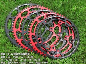 DECKAS 130BCD 50T//52T//54T//56T//58T MTB Road Bike Round Chainring for SRAM GXP NEW