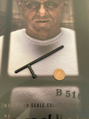 BLITZWAY Hannibal Lecter White Prison Ver Paintings etc loose 1//6th scale