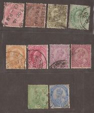 1906 - 1922 INDIA STAMPS USED  SEE SCAN FOR BACK AND FRONT