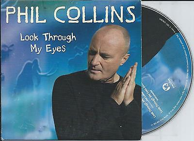 PHIL COLLINS - Look through my eyes CD SINGLE 2TR EU CARDSLEEVE 2003