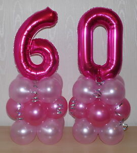 Image Is Loading 60th BIRTHDAY AGE 60 FEMALE GIRL FOIL BALLOON