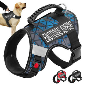 ESA-Dog-Harness-No-Pull-Emotional-Support-Therapy-Pet-Service-Vest-amp-2-Patches