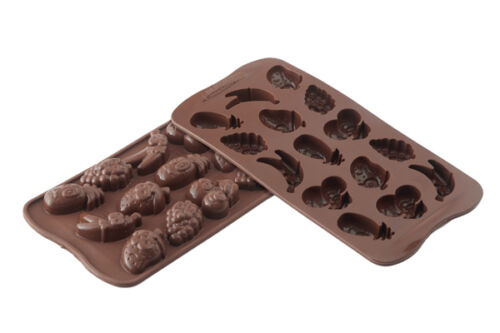 Stampo cioccolatini frutta silicone Silikomart easychoc fruit SCG 32 Rotex