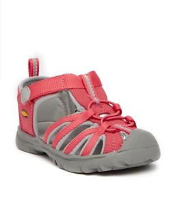 bb494ffd8129 Image is loading Keen-Whisper-Sandal-Toddler-Girls-Honeysuckle-Neutral-gray-