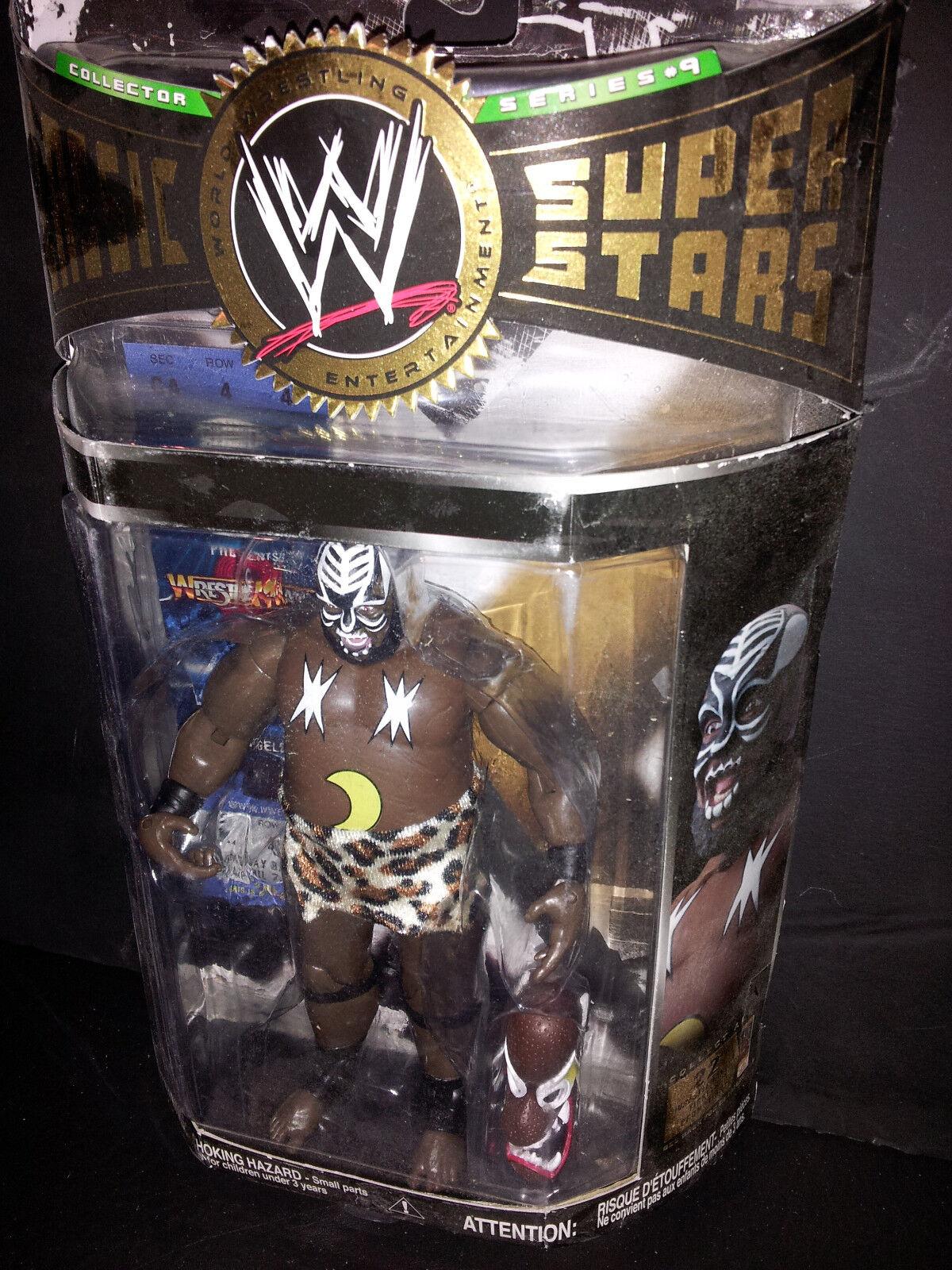 KAMALA WWF WWE CLASSIC SUPERSTARS NIP JAKKS FREE SHIPPING