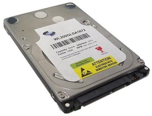 "New 200GB 5400RPM 8MB Cache 2.5/"" SATA Notebook Hard Drive Laptop /& PS3 OK"