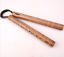 28cm Chinese Kung fu Wooden Nunchuck Training Toy Martial Nunchaku Durable Bag .