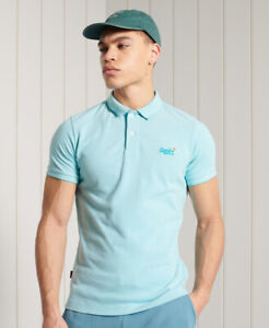 Superdry Mens Organic Cotton Classic Pique Polo Shirt