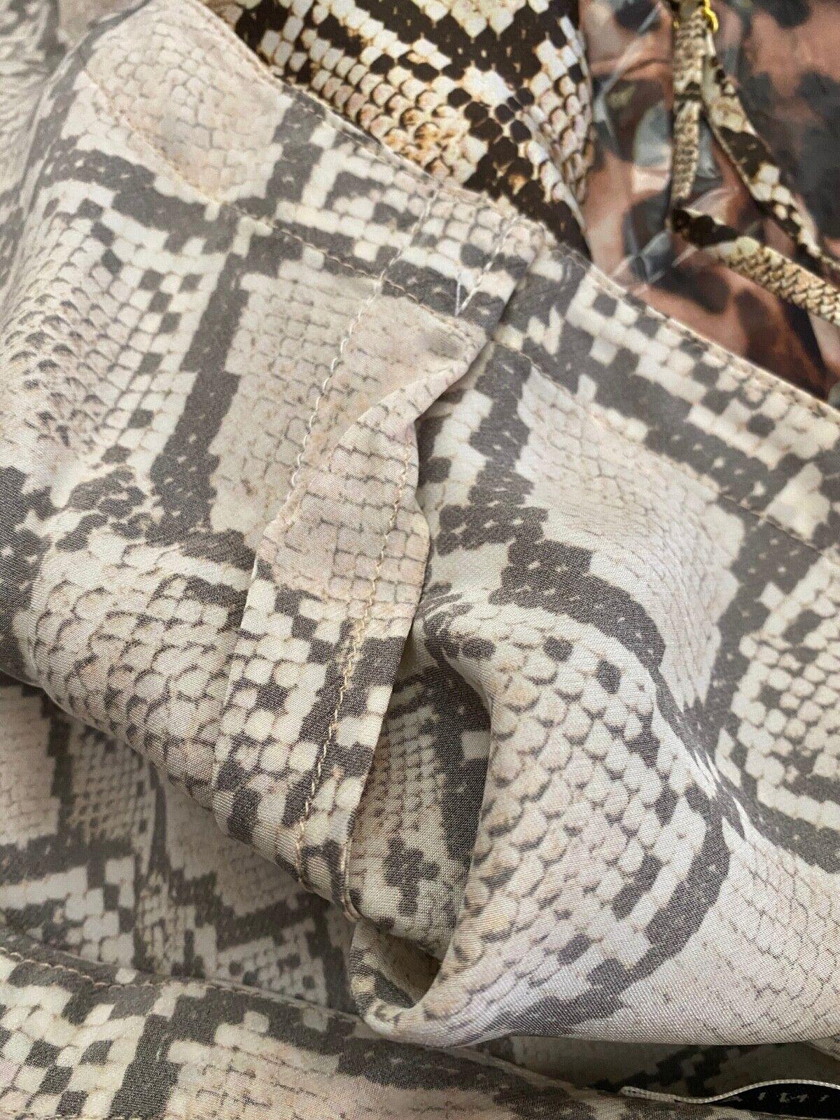 GINIA Silk Chemise Camisole Animal Print Size XL  - image 4