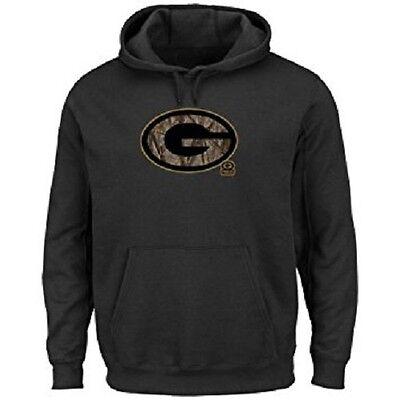 sale retailer 02f79 a3c38 Green Bay Packers Camo Tek Patch Hoodie- Black | eBay