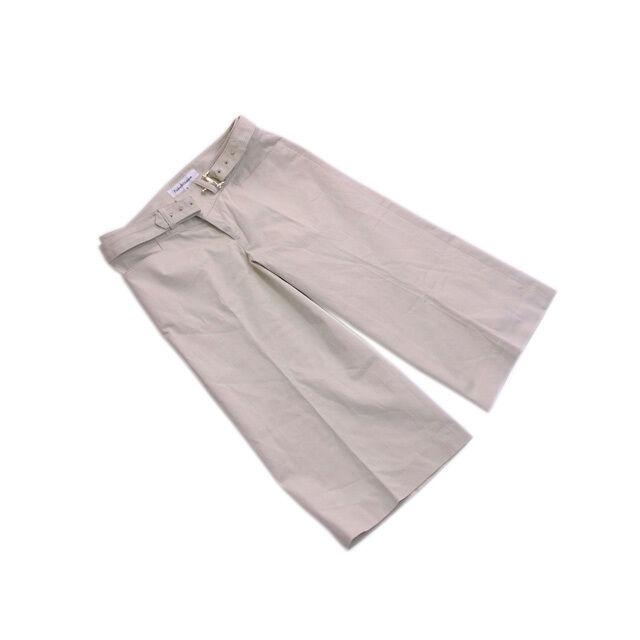 Francesco Biasia Pants Beige Woman Authentic Used D1015