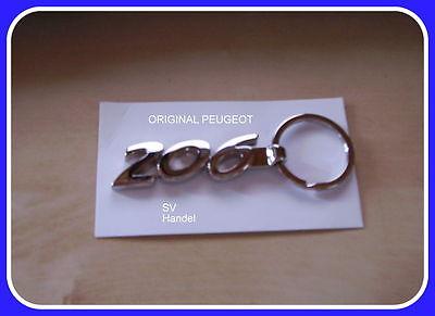 Schlüsselanhänger PEUGEOT 206 ORIGINAL (O1)