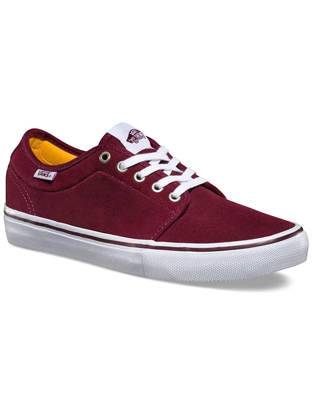 Vans CHUKKA CHUKKA CHUKKA LOW PRO PORT bianca Uomo 6 - 8 scarpe NEW SKATE NIB SK8 viola SUEDE baaa7e